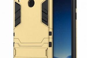 Army pevný zadní kryt se stojánkem pro Honor 8C PZK30 Barva: Zlatá...