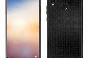 Pevný tenky ochranný kryt pro Huawei P20 Lite PZK83 Barva: Černá...