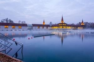 Hévíz: wellness pobyt v Hotelu Erzsébet *** se vstupenkou k termálnímu jezeru...