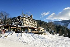 Zima nebo jaro v Hotelu Praha **** ve Špindlu s wellness a polopenzí...