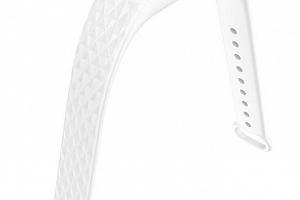 Náhradní řemínek fitness náramek Xiaomi/ Aligator M2- dvoubarevný SWB1 Barva: Bílá/Červená...