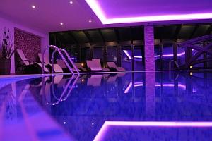 Vstup do wellness v hotelu Kempa *** v Beskydech...