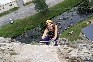 Kurz Via ferrata lezení s teorií Vír, Vysočina - zažijte jedinečné odreagování a naučte se důležité…...