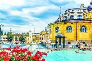 Budapešť v Hotelu Bobbio *** s celodenním vstupem do lázní Széchenyi a snídaní...