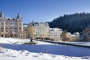 Hotel Ferdinand v Mariánských Lázních s polopenzí a wellness procedurami...