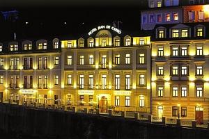 Hotel Jean de Carro**** v Karlových Varech s wellness a polopenzí...