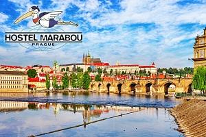 Hostel Marabou, pokoj na Žižkově se snídaní a vlastní pivotékou...