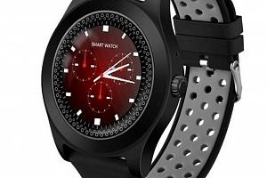 Chytré hodinky TF8 s HD kamerou- 4 barvy SMW41 Barva: Šedá...