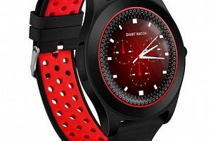 Chytré hodinky TF8 s HD kamerou- 4 barvy SMW41 Barva: Červená...