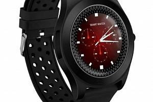 Chytré hodinky TF8 s HD kamerou- 4 barvy SMW41 Barva: Černá...