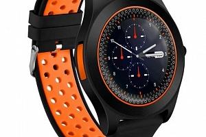 Chytré hodinky TF8 s HD kamerou- 4 barvy SMW41 Barva: Oranžová...