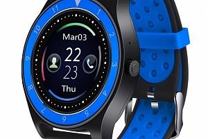 Smartwatch- chytré hodinky R10 SMW40 Barva: Černá- Modrá...