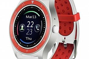 Smartwatch- chytré hodinky R10 SMW40 Barva: Bílá- Červená...