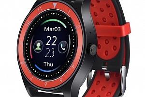 Smartwatch- chytré hodinky R10 SMW40 Barva: Černá- Červená...