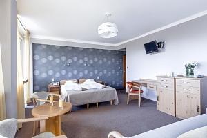 Horský hotel Rysy v polských Tatrách s polopenzí jen 1 km od termálů...