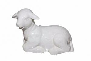 Krásný beránek z keramiky ozdobí váš interiér nejen na velikonoční svátky....