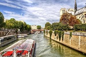 Zájezd do Paříže pro jednoho. Skvosty Paříže s projížďkou po Seině, Disneyland a lázně Amberg....