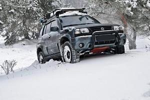 Vyprošťování vozidla ze sněhu nebo příkopu...