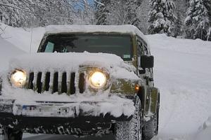 Kurz jízdy na sněhu, řešení krizových situací...