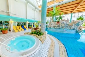 Krušné hory v IFA Schöneck Hotelu *** s polopenzí a vstupem do Aqua Worldu...