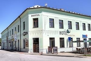 Hotel Panský dům na Šumavě u Lipna s polopenzí a saunou...