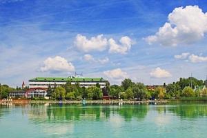 Balaton: Hotel Marina-Port **** s neomezeným wellness, polopenzí a pláží...