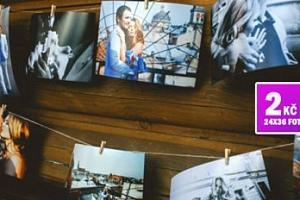Vyvolání 100/200 ks fotografií na kvalitním fotopapíru...