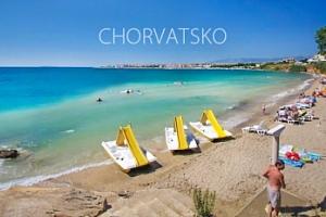 Týden s polopenzí v apartmánech u pláže - Povljana, Chorvatsko...