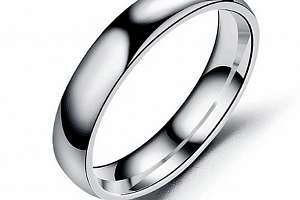 Prsten z chirurgické oceli- Classic- stříbrný SR00004 Velikost: 7...