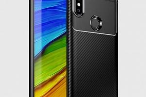 Luxusní silikonové pouzdro pro Xiaomi MI A2 Lite / Redmi 6 PRO PZK97 Barva: Černá...
