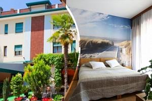 Květnová dovolená v Itálii/Caorle na 8 dní až pro 7 osob v apartmánu...