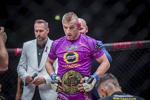 Privátní MMA trénink se šampiónem Davidem Kozmou...