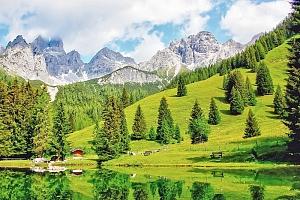Salzbursko v hotelu v oblasti Dachstein s bazénem, saunou a polopenzí – i přes léto...