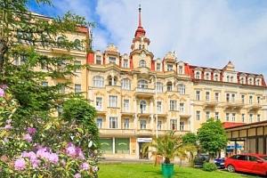 Mariánské Lázně: Hotel Fontána *** až s 34 wellness procedurami a polopenzí...