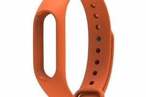 Náhradní řemínek k náramku M2 Aligator/Xiaomi Barva: Oranžová...