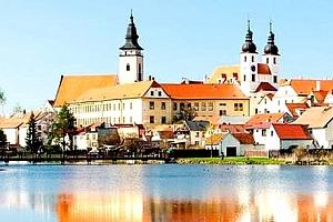 Ubytování se snídaní pro dvě osoby v romantické a historické Telči. Přírodní dědictví UNESCO....