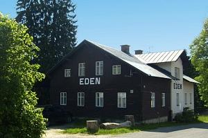 Penzion Eden v Harrachově s polopenzí, platnost až do 3.11.2019...
