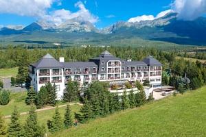 Vysoké Tatry: Hotel Hubert **** s polopenzí a neomezeným wellness + děti zdarma...