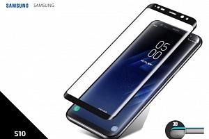 Ochranné sklo Protector 3D pro Samsung S10- 0,3 mm - černá TVSK58...