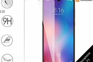 Tvrzené bezrámečkové ochranné sklo 9H pro Xiaomi Pocophone F1 TVSK74...