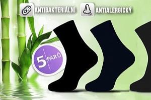 Antibakteriální bambusové ponožky...