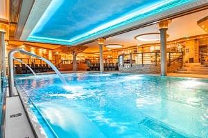 Wellness pobyt v luxusním Hotelu Sport Aqua *** s polopenzí v centru Púchova...