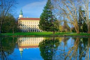Vstupenka na překrásný zámek Kroměříž...