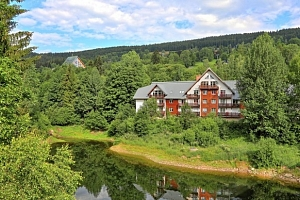 Apartmány Labská ve Špindlu pro až 4 osoby s výhledem na jezero...