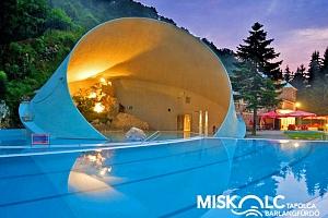 Maďarsko: Lázně Miškovec v hotelu s neomezeným wellness + snídaně, nebo polopenze...