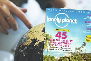Roční předplatné časopisu Lonely Planet - magazín o cestování...