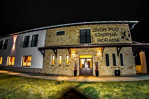 Stylový penzion na Moravě s polopenzí a možností degustace vína pro dva...
