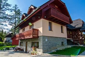 Slovenské Tatry: dovolená jen 50 m od Studeného potoka se snídaní...