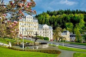 Mariánské Lázně: luxus v Hotelu DaVinci **** s polopenzí a wellness procedurami...