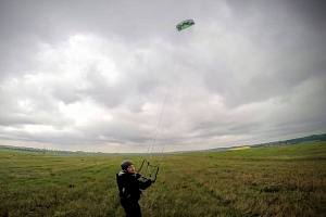 Jednodenní land-kite kurz...